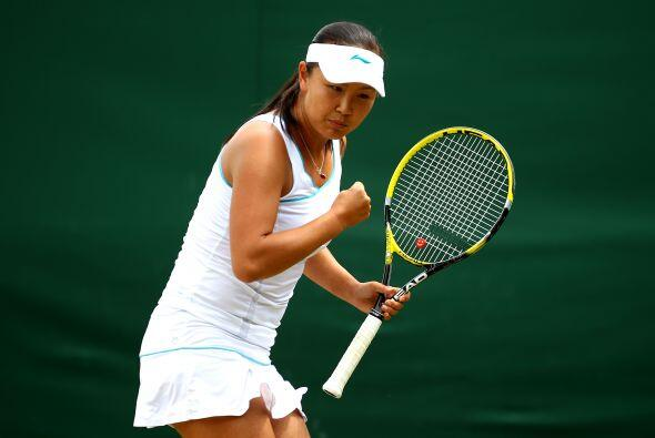 El tenis chino sigue dando de qué hablar y, aunque Li Na quedó fuera de...