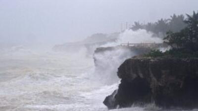 La tormenta tropical Bertha afecta una zona del Caribe. (Imagen de Archi...