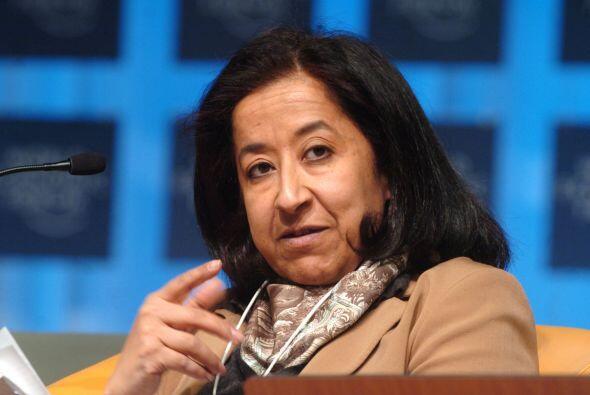 86.- LUBNA S. OLAYAN: Originaria de Arabia Saudita ha sabido colocarse c...