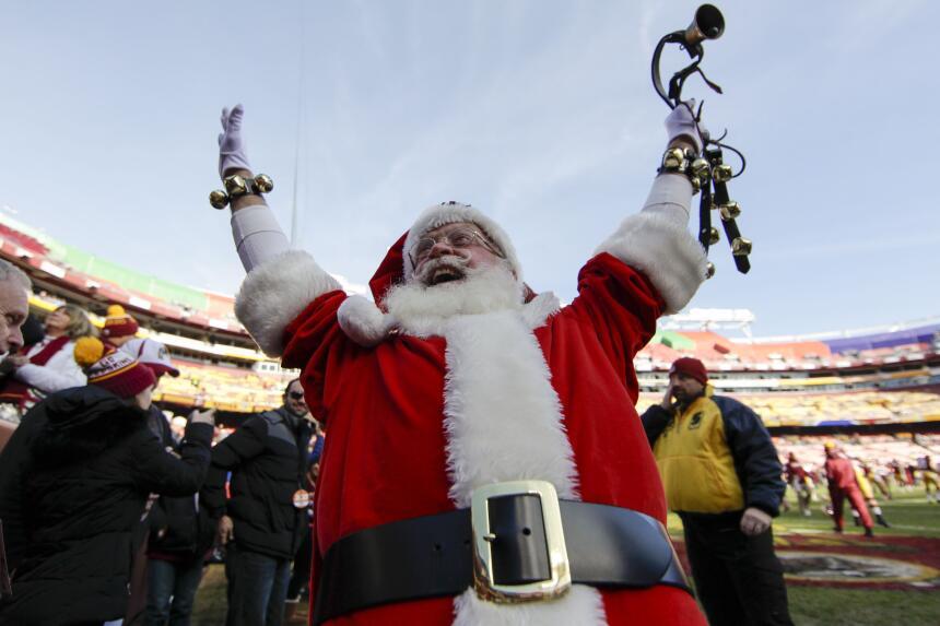 El espíritu navideño y competitivo a todo lo que da en la Semana 15 de l...