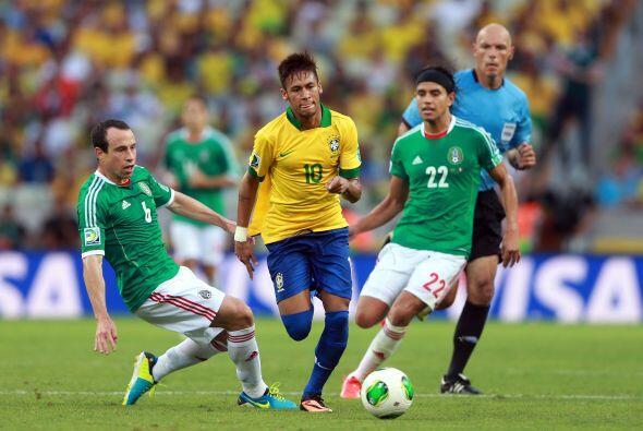De manera similar se rompió el buen paso contra Brasil, ya que antes de...