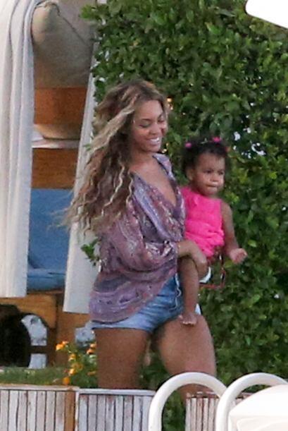 Beyoncé es una madre muy cariñosa y está al pendien...