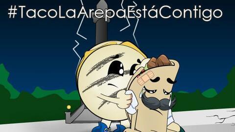 Usuarios de redes sociales han mostrado su solidaridad con los mexicanos.