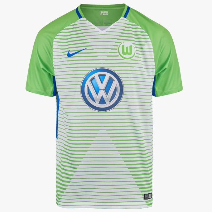 9. Wolfsburgo - Nike (Alemania)