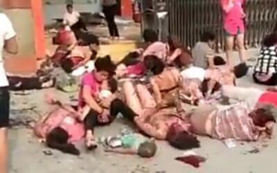 Una explosión en una guardería en China deja al menos tres muertos y 59...