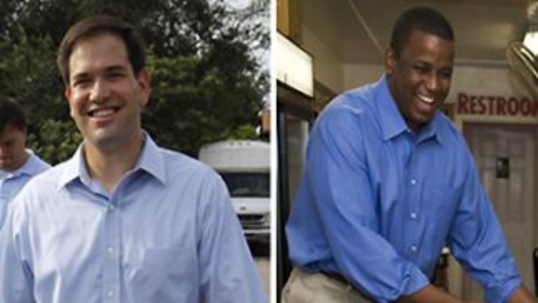 Marco Rubio y Kendrick Meek se medirán contra Charlie Crist.