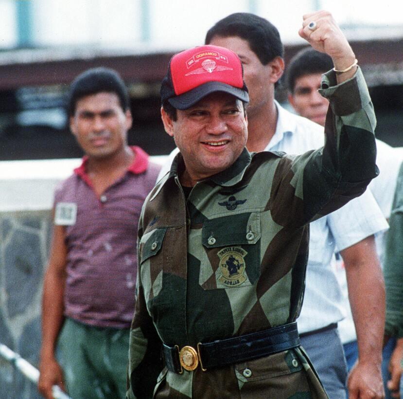PANAMA CITY, PANAMA:  (FILES) This 04 October, 1989, file photo shows fo...