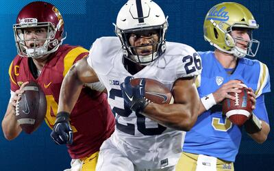Conoce aquí a los mejores prospectos para el Draft 2018 de la NFL.