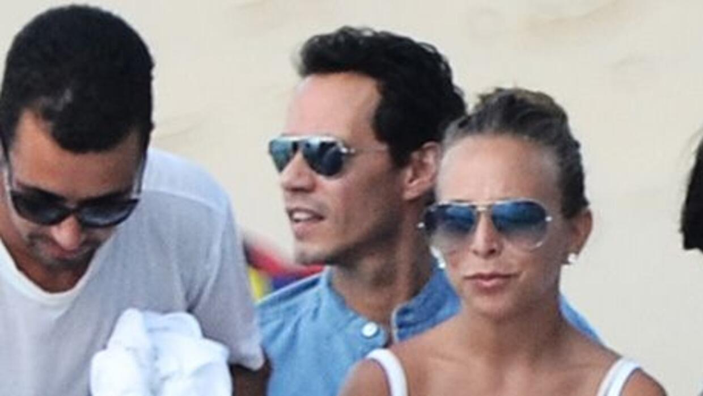 Marc Anthony y Chloe Green DL