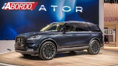 Lincoln presenta una nueva y bellísima camioneta en NY, la Aviator: New York Auto Show