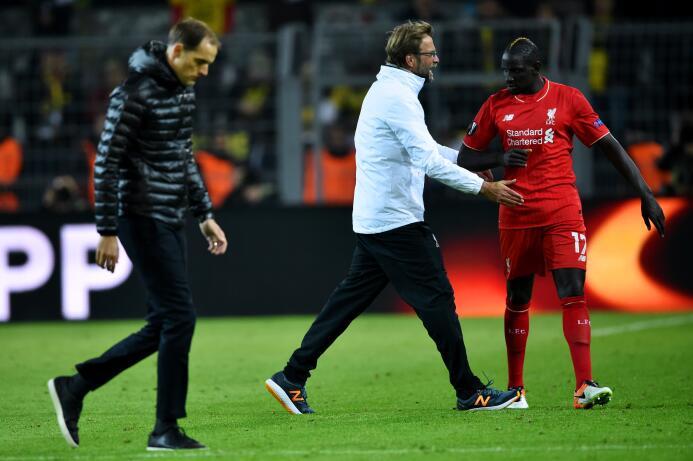 Jürgen Klopp visitó a su Borussia Dortmund ahora como DT del Liverpool.