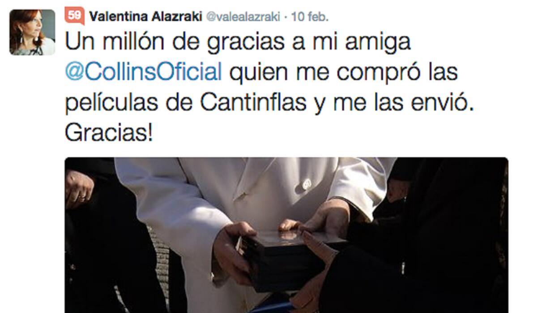 Papa Francisco, Valentina Alazraki, Twitter