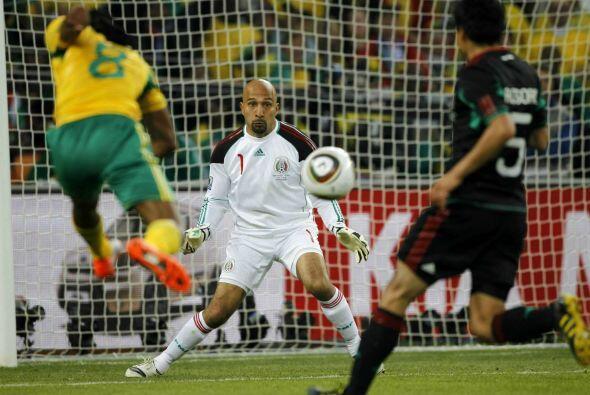 Pérez no tuvo problemas en demostrar que aún era capaz de dar grandes ju...