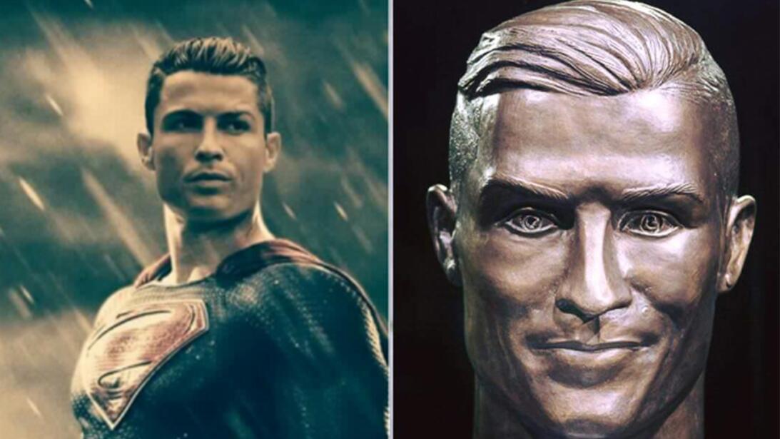 El nuevo busto de Cristiano no se salvó de los divertidos memes cr7-sm.jpg