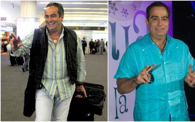 Omar Fierro con kilos de menos