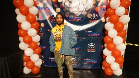 Grammy-Award winning recording artist Miguel stopped by the Uforia Loung...