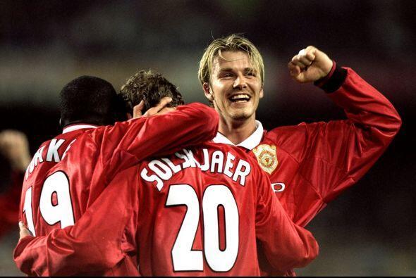El atacante noruego concretó la voltereta soñada por el United.