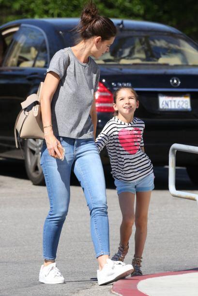 """Las dos se fueron de """"shopping"""" a un centro comercial en Beverly Hills."""