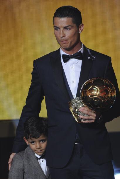 Se esperaba que el portugués llegara a la gala acompañado de su guapísim...