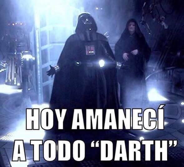 Únete al lado oscuro de la fuerza y ríete un poco con estas bromas de la...