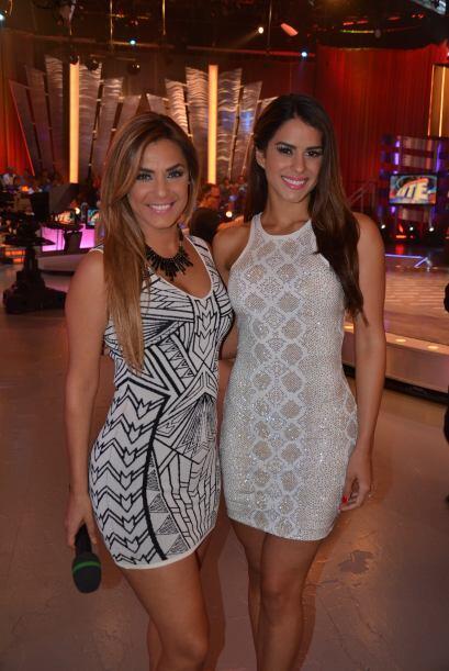 ¡Vanessa y Rosina lucieron espectaculares!