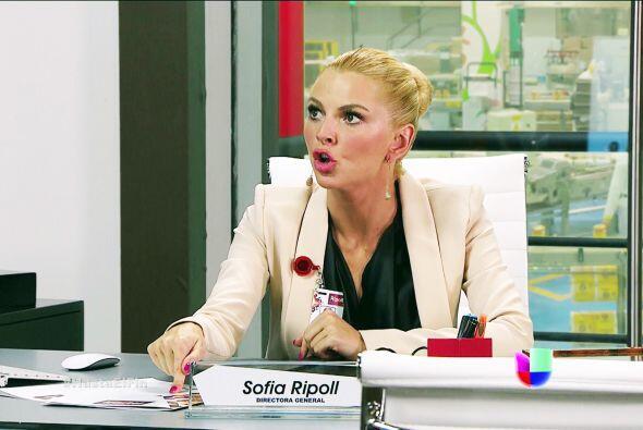 Muy bien Sofía, Patricio ya merecía que alguien le pusiera un alto a su...