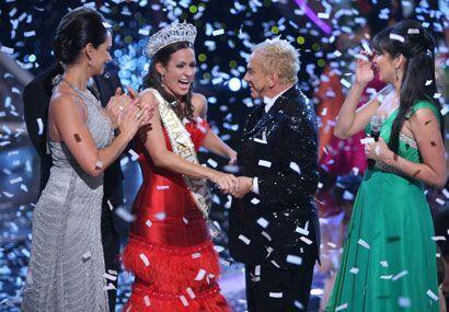El momento más agradable para todos es cuando coronan a la reina, inclus...