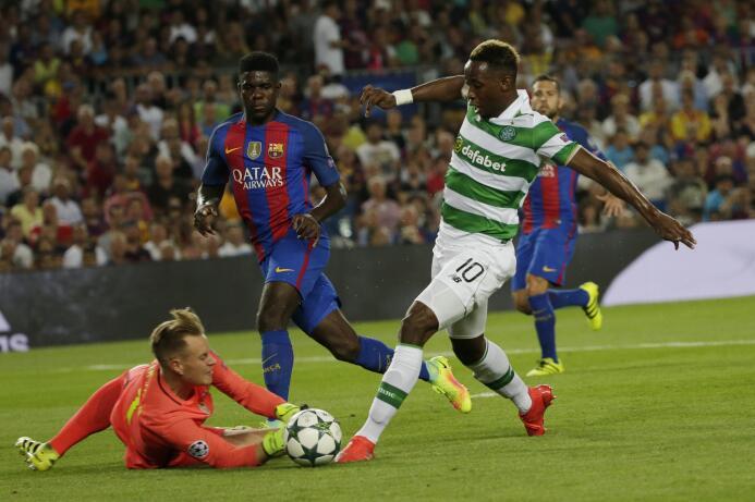El joven francés Moussa Dembélé, del Celtic Glasgow, estaría en los plan...