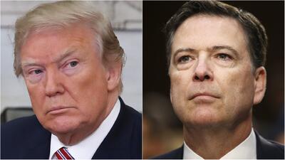 """""""Nunca le pedí lealtad personal a Comey"""": Trump vuelve a arremeter contra el exjefe del FBI"""