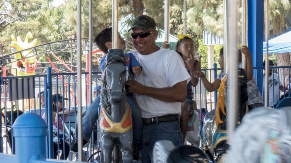 Familias del valle central visitaron los parques temáticos Playland y St...