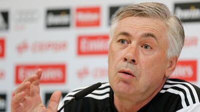 El timonel italiano prefiere que Gareth Bale esté al 100% para alinearlo.