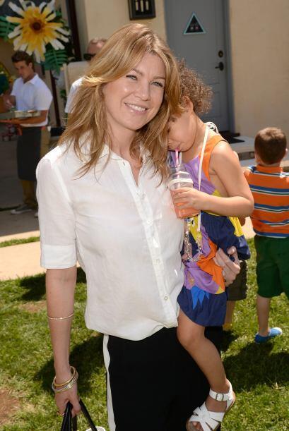 """Ellen Pompeo, la protagonista de """"Grey's Anatomy"""", es otra de las famosa..."""