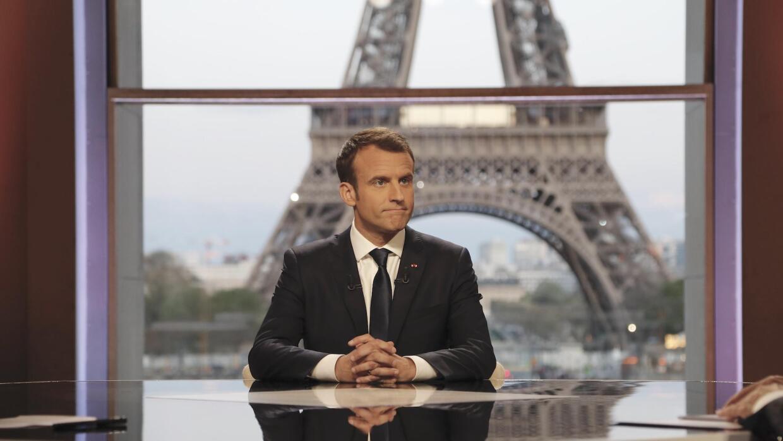 Entrevista al presidente francés Emmanuel Macron