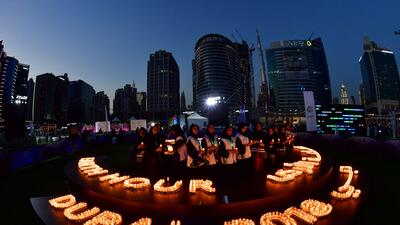 En fotos: El planeta apaga la luz por una hora para encender la conciencia ambiental