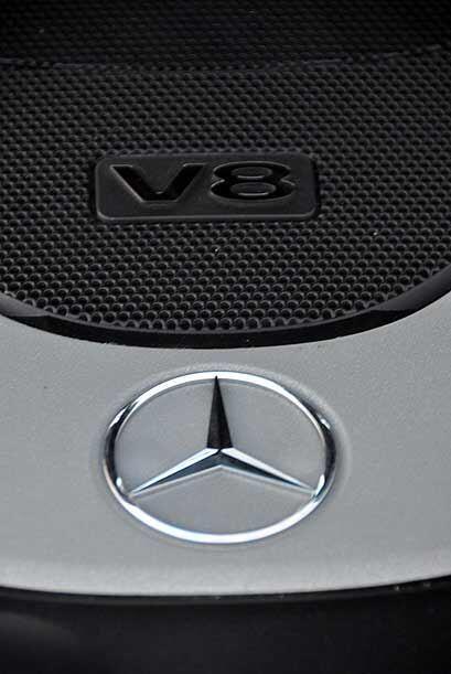 El modelo que probamos contaba con un motor V8 de 5.5 litros capaz de pr...