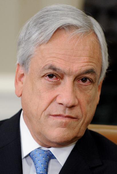 10. Sebastian Piñera. El presidente de Chile es el cuarto hombre...