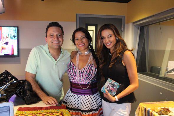 Lila Downs con Omar y Argelia