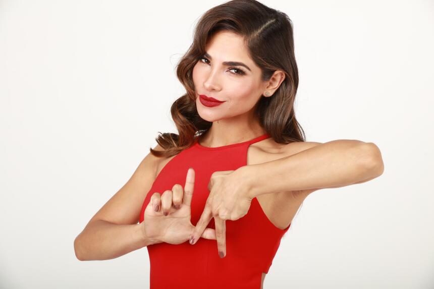 Alejandra looks