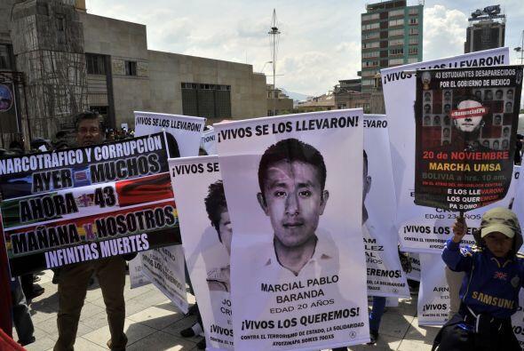 Esta movilización tuvo lugar en la Universidad Mayor de San Andrés de La...