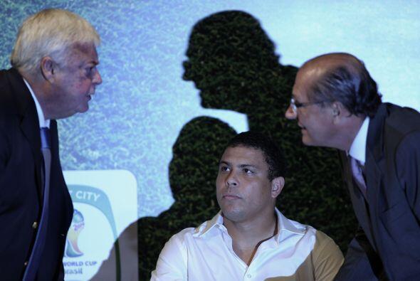Ronaldo fue uno de los artífices del triunfo de Brasil en la Copa Mundia...