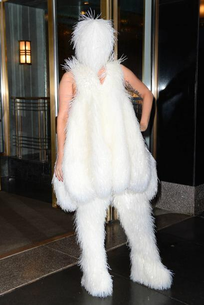 ¿Ustedes imitarían es estilo esquimal de Gaga, o dejar&iac...