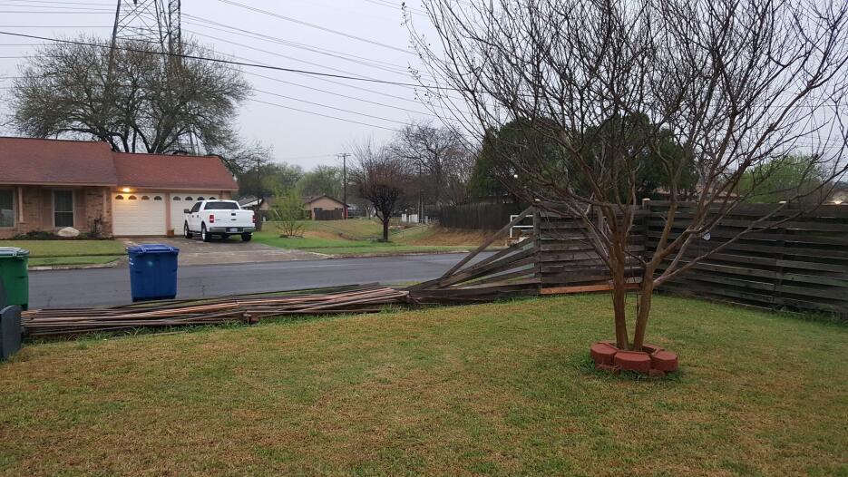 Usuarios de redes sociales compartieron imágenes de los daños provocados...