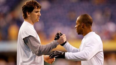 El quarterback de los Giants no quiere perder a su principal receptor de...