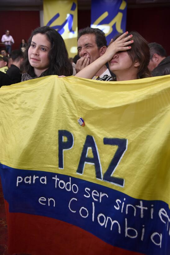 Plebiscito Colombia No