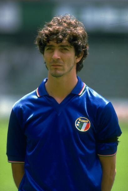 1983: Seis goles le bastaron al italiano Paolo Rossi de la Juventus.