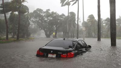 Este BMW Serie 3 de última generación, fotografiado el Miami el pasado 1...