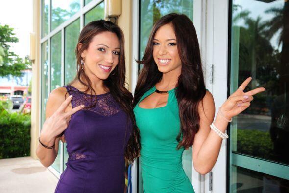 ¿Quién dijo bellezas latinas? Miami amaneció de cie...