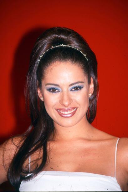 """Galilea debutó como actriz en la telenovela """"El premio Mayor"""" en 1996 co..."""