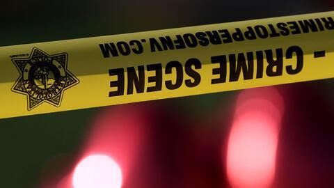 La policía del condado Atlantic, Nueva Jersey, desplegó un...