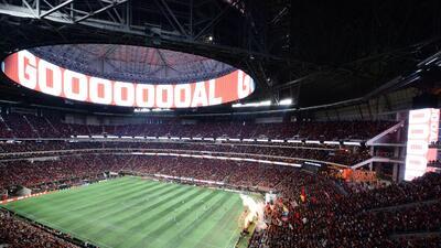 Siguen los récords: en 2018 más de un millón de aficionados vieron a Atlanta United en su estadio